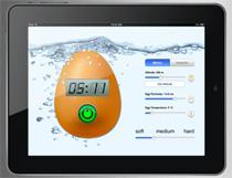 Äggklocka i din iPad