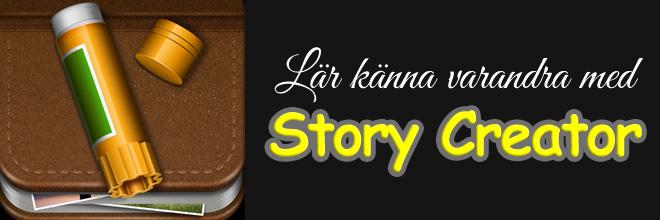 Lära och att lära känna med Story Creator
